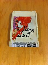 Rodgers & Hammerstein's - The King And I Original  ~8 Track Tape