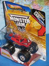 HOT WHEELS MONSTER JAM SPIDERMAN TRUCK CRUSHABLE CAR MAX-D *BRAND NEW & RARE*