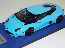 1/18 Looksmart MR Lamborghini 5-95 Baby Blue Black Wheels