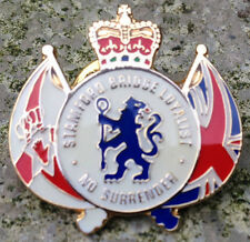 LOYALIST PIN BADGE ULSTER UVF UDA CD CHELSEA HEADHUNTERS FB LINFIELD RANGERS