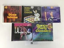 Lot of 5 CD'S Dance Party Classics Double Knit Boogie Wonderland Bubba Disco  I5
