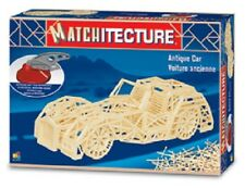 Matchitecture 6616 Coche Antiguo Matchstick Model Kit-Orugas 48 Post