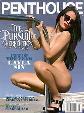 PENTHOUSE MAGAZINE LAYLA SIN MAY 2015 with free gift