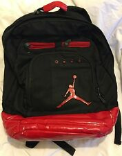VINTAGE NIKE AIR JORDAN BACKPACK BLACK & RED