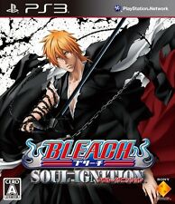 Used PS3 Bleach Soul Ignition Japanese Version Japan Import