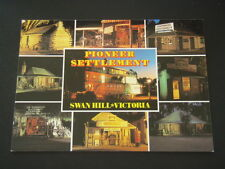 PIONEER SETTLEMENT SWAN HILL VICTORIA SOUND AND LIGHT TOUR 1995 POSTCARD