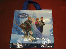 NEW TESCO FROZEN DISNEY SHOPPING BAG SHOPPER Reused-able free postage in UK