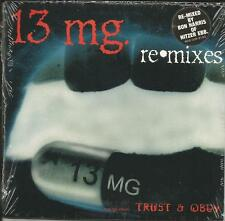 13 MG w/ NITZER EBB too freaky / Sinister 5 RARE REMIXES CD single SEALED 13mg