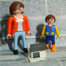 Playmobil Kid with Mum and Doll House - Figures