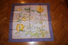 NWOT VALENTINO AUTHENTIC Flowers and Sea Shell Print 100% SILK SCARF