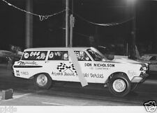 DYNO DON NICHOLSON MERCURY MARAUDER WAGON    8X12 DRAG RACING PHOTO