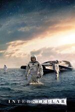 Interstellar Movie Poster fea. Matthew McConaughey Explorer size 24x36