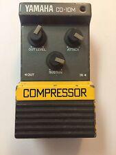 Yamaha CO-10M Analog Compressor Sustainer Rare Vintage Guitar Pedal MIJ Japan