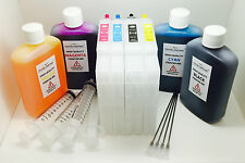 Sublimation Refillable ink cartridge set for RICOH SG3110DN GC-41 Empty to Fill