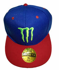 RR Cap Blue And Red Monster Cap