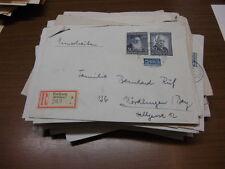 Bund, Briefe Posten, ca. 80 Stück, Wohlfahrtsmarken, seltene Frankaturen (51047)