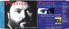 "PARRITA ""LO TRAIGO DE LA ISLA"" RARE SPANISH PROMO CD SINGLE / VICENTE CASTRO"
