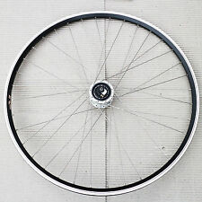 "28"" VORDERRAD mit SHIMANO NABENDYNAMO DH3D72 DISC EXAL ZX 19 FELGE DT SPEICHE"