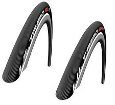 x2 Schwalbe Bicycle Ultremo Aqua Bike Tire 23-622 700 x 23C HD Speed Guard HS026