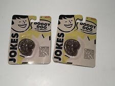 "Qty 2 Doggy Doo Doo, Schylling ""Bad Doggy"" Doo Doo 