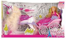 TOYRIFIC BEAUTIFUL FASHION CARRIAGE TOY DOLLS BARBIE DISNEY PRINCESS HORSE NEW