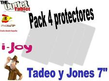 "Pack 4 Protectores para Tablet I-joy Tadeo y Jones 7"" pulgadas ijoy ijoi illoy"