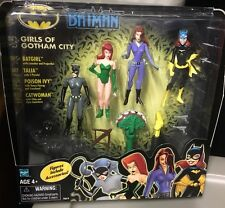 Batman Animated Series Girls of Gotham City 4 Pack of Action Figures