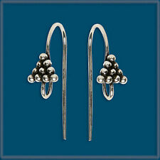 24 Sterling Silver Earring Finding Ear Wire Hook