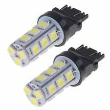 2 X Cool White 3157 3156 3057 3457 18SMD 5050 LED Bulb Reverse Back up Light
