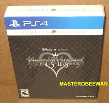 PS4 Kingdom Hearts HD 1.5 + 2.5 (I.5 & II.5) Remix Limited Edition New Sealed