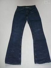 Levi's® 529 Bootcut Jeans Hose W 28/L 34 Einzelstück Denim mit Knitter Waschung!