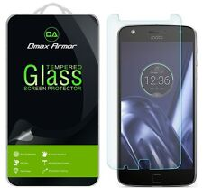 Dmax Armor Motorola Moto Z Play Droid Tempered Glass Screen Protector Saver