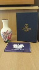 Old Tupton Ware Butterfly Design 4 inch Vase boxed