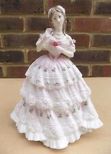 ROYAL DOULTON ROSSO RED ROSE LIMITED EDITION PORCELLANA FIGURINA hn3994