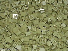 50 LEGO Olive Slope Brick 1 x 1 x 2/3 ref 54200 / Set 9476 70006 70010 10237