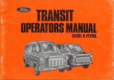 Ford Transit original Handbook Diesel & Petrol Models 1975 No. CG230/191035
