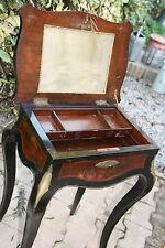petite table de toilette  travailleuse coiffeuse XIX ème Alphonse Giroux