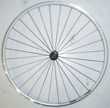 ALEXRIMS R500 SILVER 700C ALUMINUM FRONT BIKE BICYCLE RIM/HUB RMR58