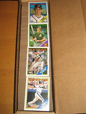 1988 Topps  Baseball  792  Card Set