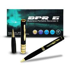 PENNA SPIA HD BPR6 CON TELECAMERA NASCOSTA E MICROSD FINO A 16GB RISOLUZIONE VID