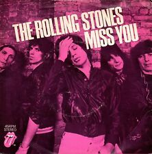 The Rolling Stones - Miss You - 1978 UK - EMI - EMI 2802