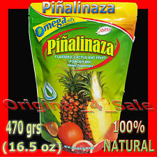 Piñalinaza Dietary Supplement (Pineapple, Cactus, Flaxseed and Fruit Powder Mix)