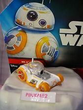 2016 Hot Wheels Star Wars Force Awakens BB-8 Droid✰White✰Loose ✰Character car
