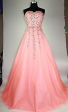 Women's Formal Sweetheart rhinestone beaded Ball Gown Evening prom dress $399