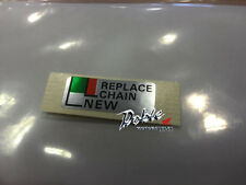 New Genuine Honda OEM Motorcycle Replacement Chain Adjuster Marker Decal Sticker