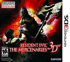 *NEW* Resident Evil The Mercenaries 3D - Nintendo 3DS