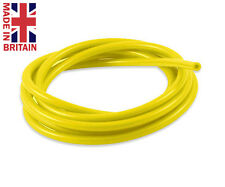 17mm Vacuum Silicone Hoses Turbo Dump Radiator Rubber Air Vac Pipe 2mtr Yellow