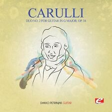 Duo 2 For Guitar In G Major Op 34 - Carulli (2016, CD NEUF)