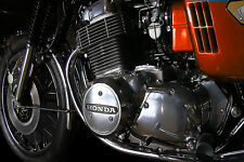 HONDA VINTAGE CB750 MOTORCYCLE ENGINE 30 X 20 LARGE POSTER