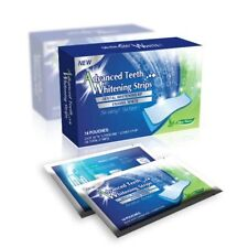 28 ADVANCED HOME TEETH WHITENING STRIPS WHITE STRIPS 14 DAY TREATMENT